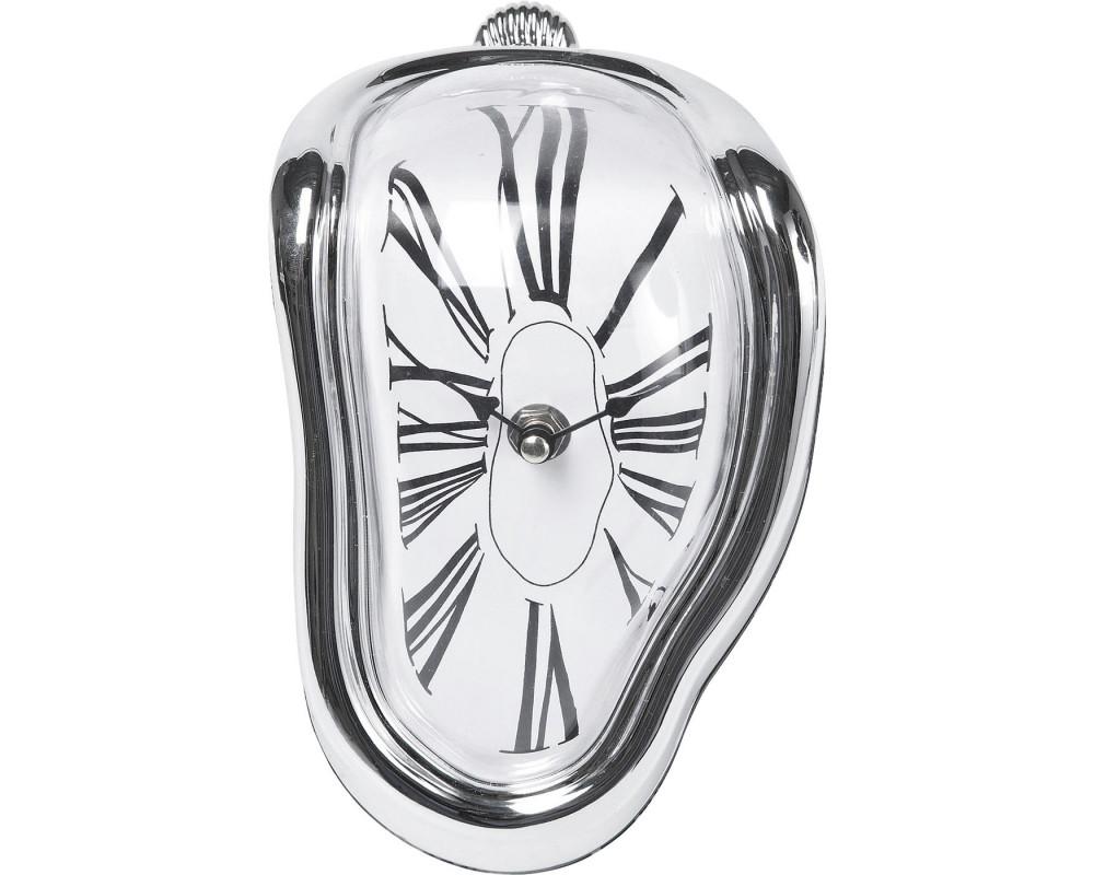Часы настольные Flow Silver