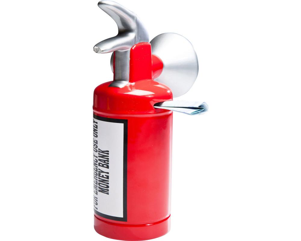Копилка Caution Fire