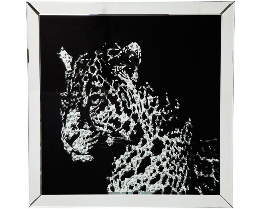 Картина Зеркало Leopard