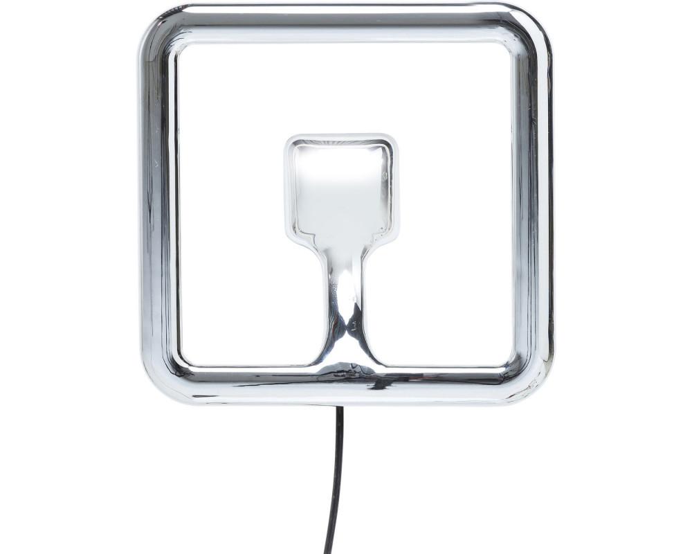 Светильник настенный Clip Square Chrome LED