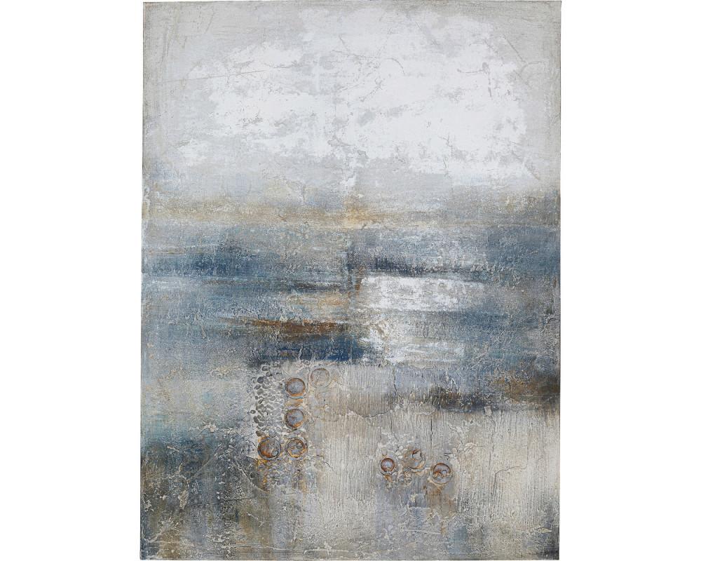 Картина маслом Abstract Into The Night 120x90cm