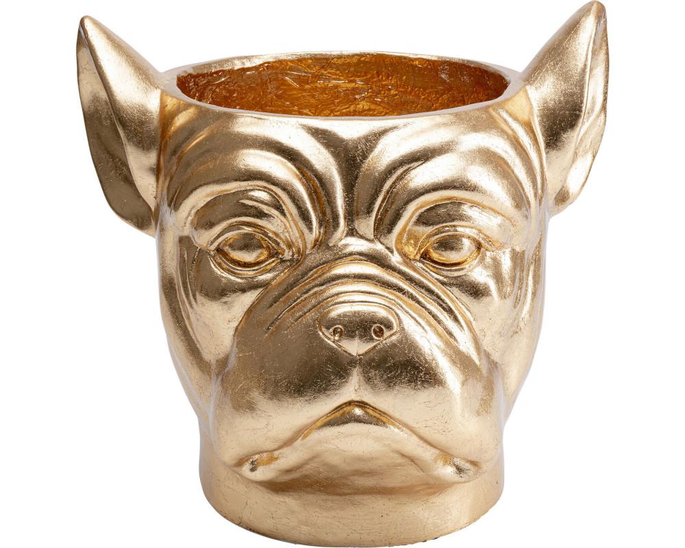 Кашпо декоративное Bulldog Gold