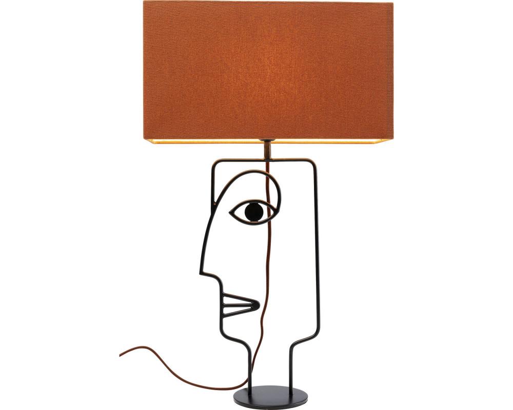 Светильник настольный  Face Wire Orange