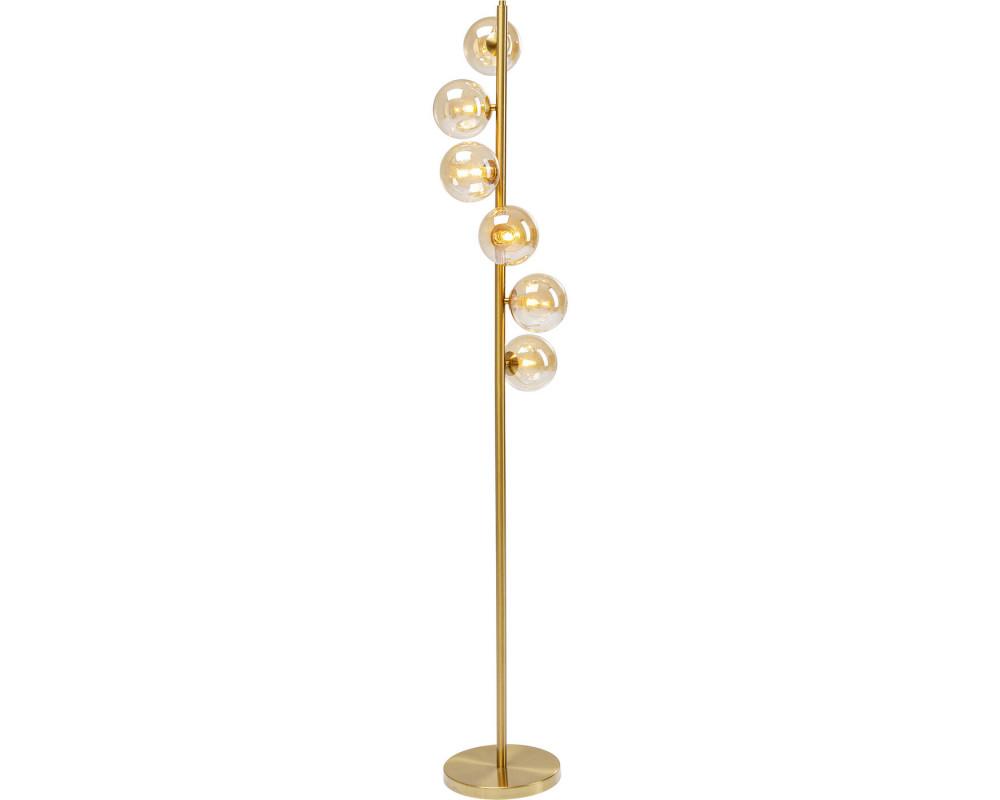 Светильник напольный Scal Balls Brass 160cm