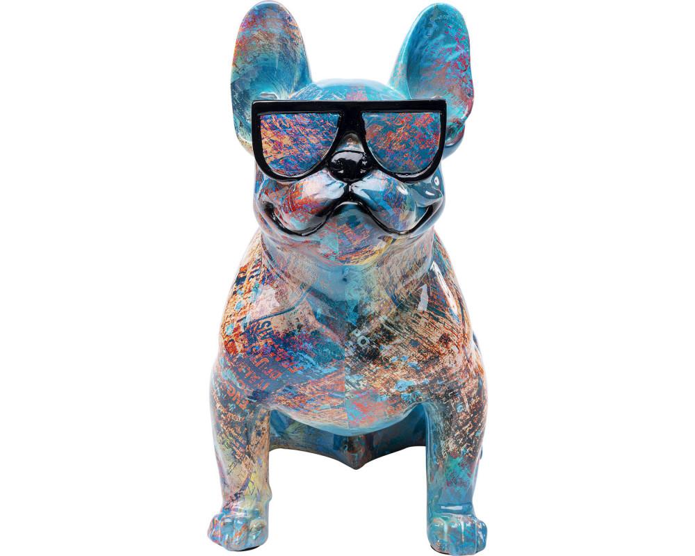 Deco Figurine Dog of Sunglass
