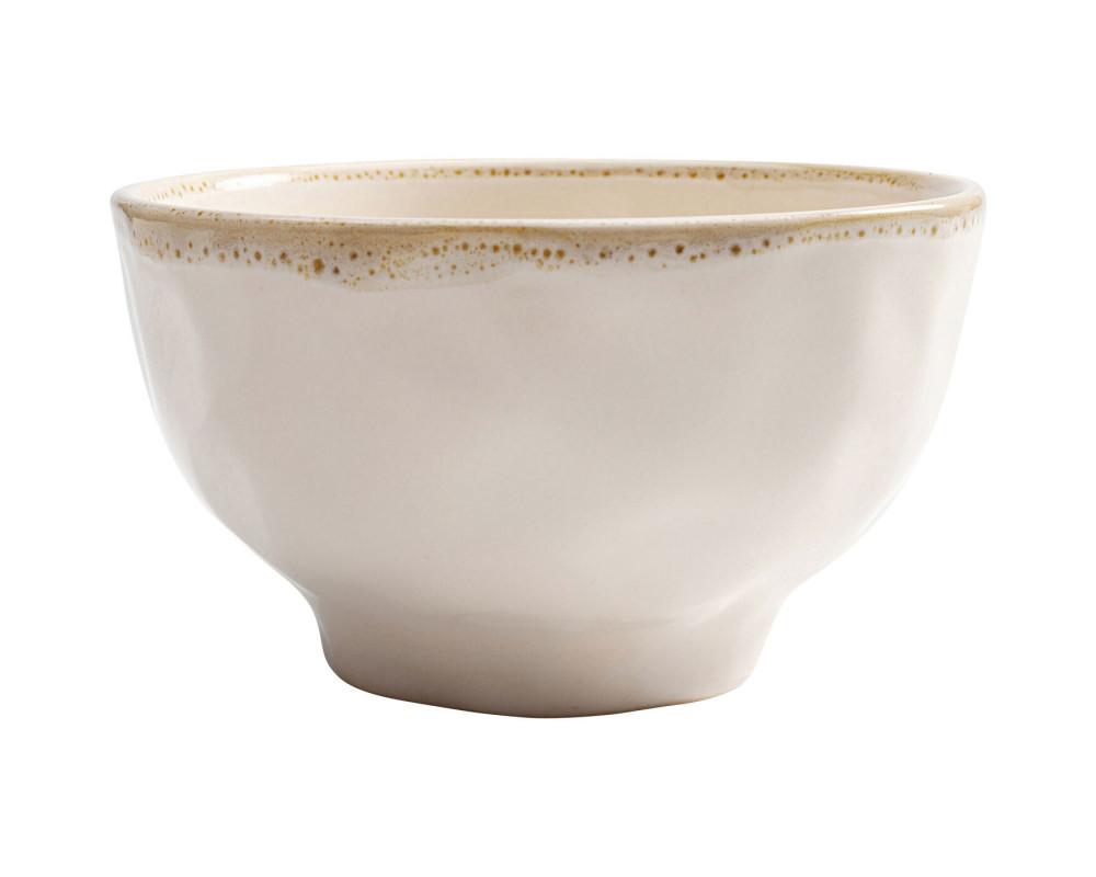 Bowl Organic White Ø15