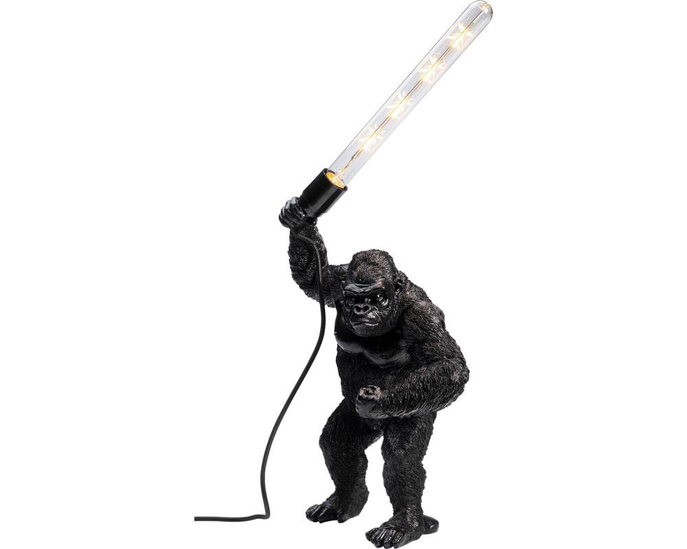 Table Lamp Fighting Kong Mat Black
