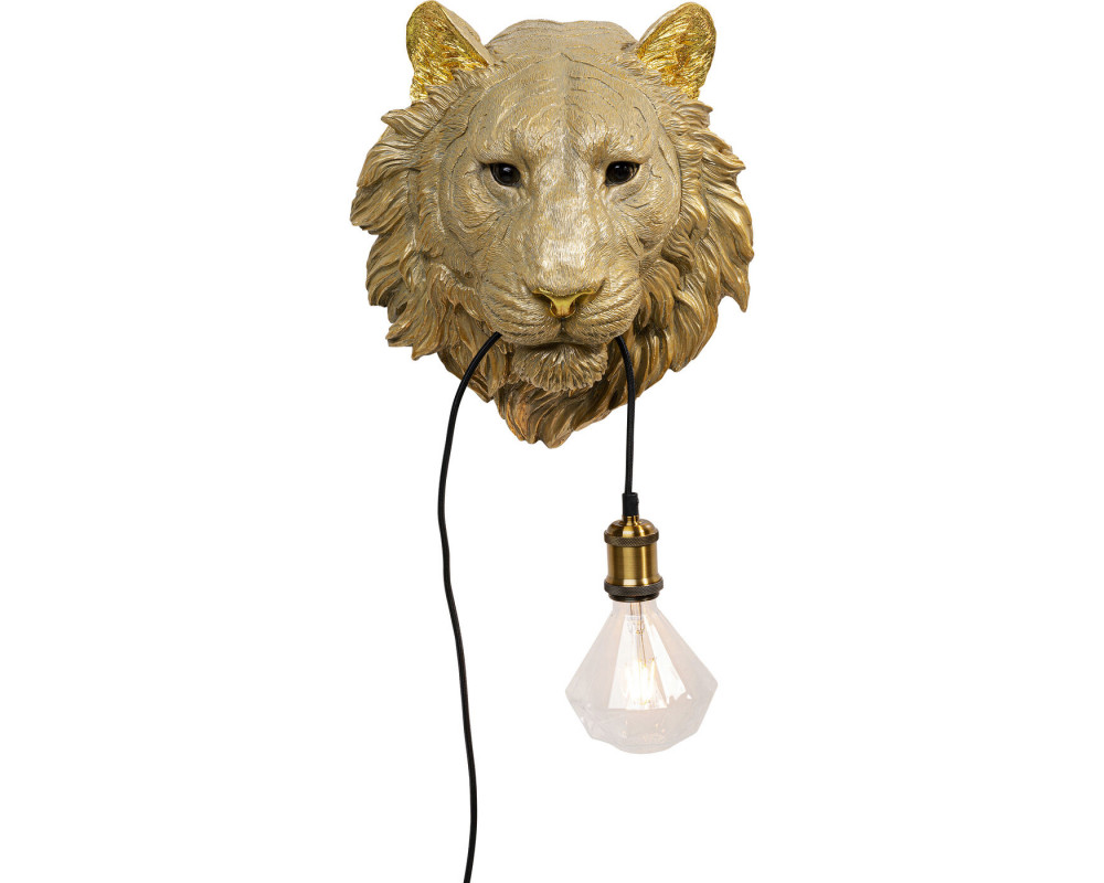 Wall Lamp Tiger Head