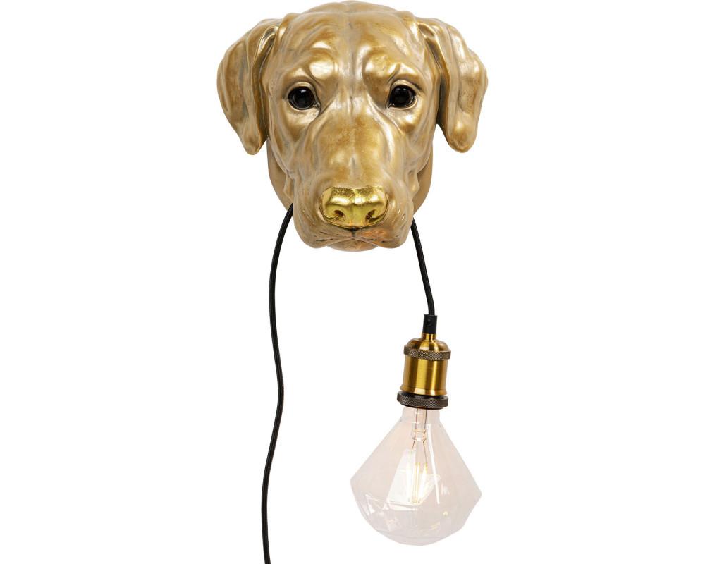 Wall Lamp Dog Head