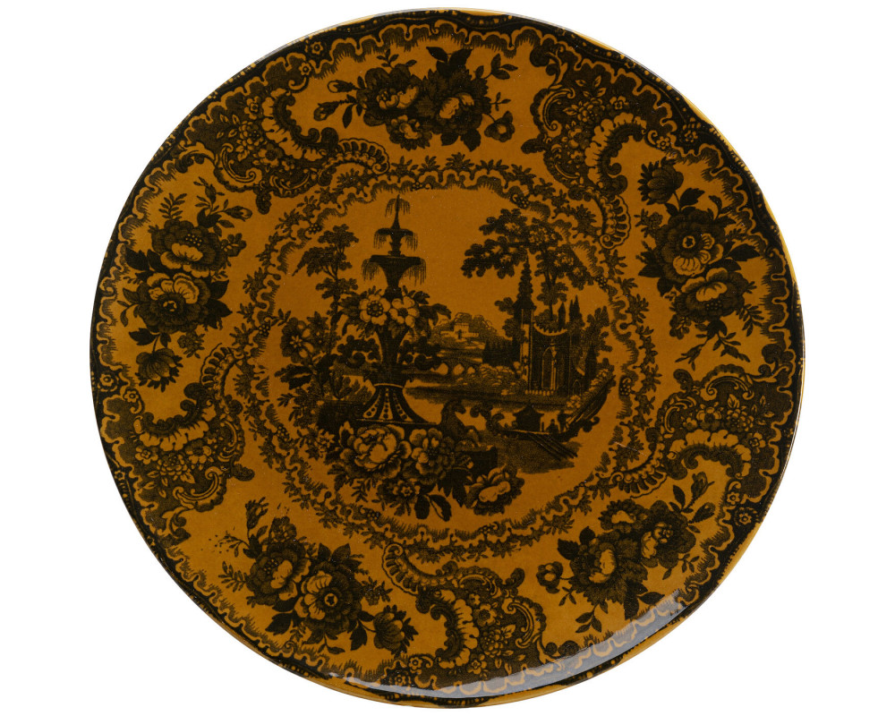 Plate Sakura Yellow Ø27