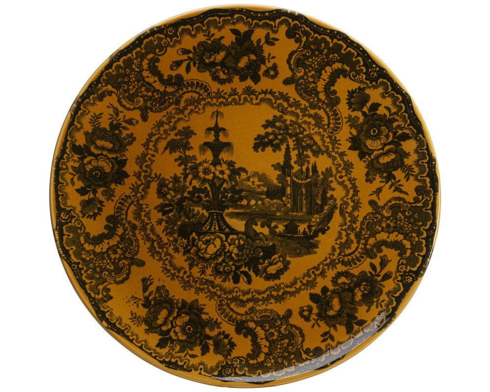 Plate Sakura Yellow Ø22