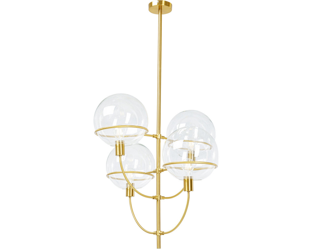 Pendant Lamp Lantern 4rs Brass