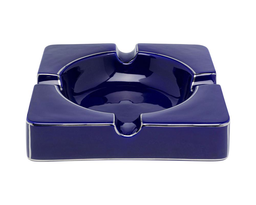 Ashtray Symmetric Blue