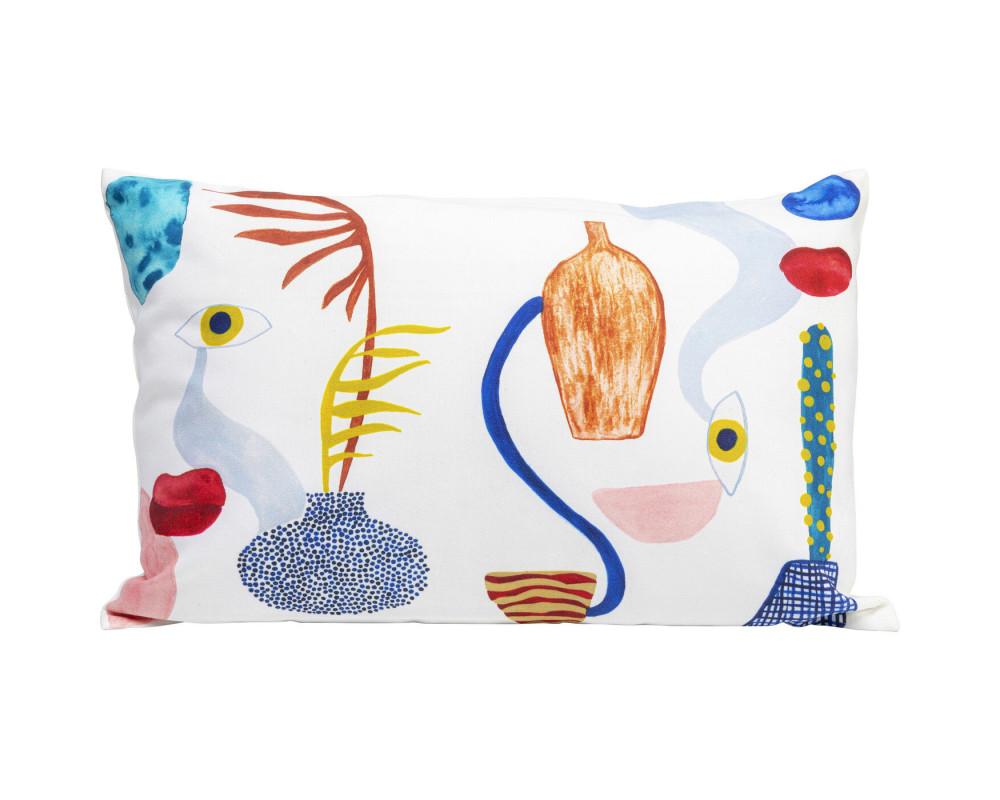 Cushion Artistic Eyes 55x35