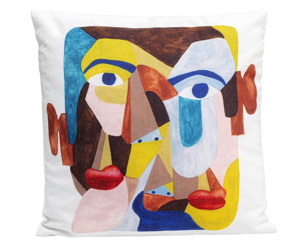 Cushion Artistic Face 45x45