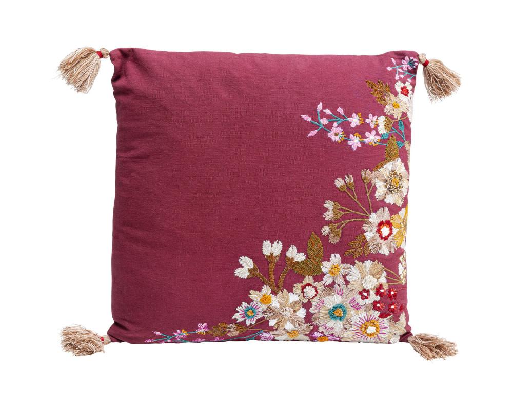 Cushion Embroidery Blossom 50x50