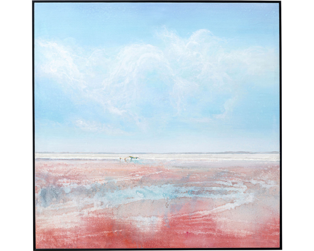 Canvas Picture Red Sea 100x100