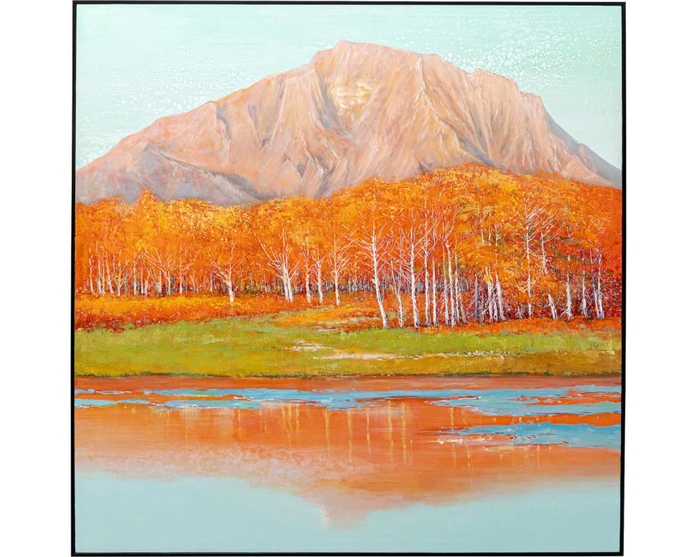 Canvas Picture Autumnal 120x120