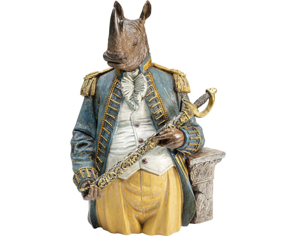 Deco Object Angry Sir Rhino