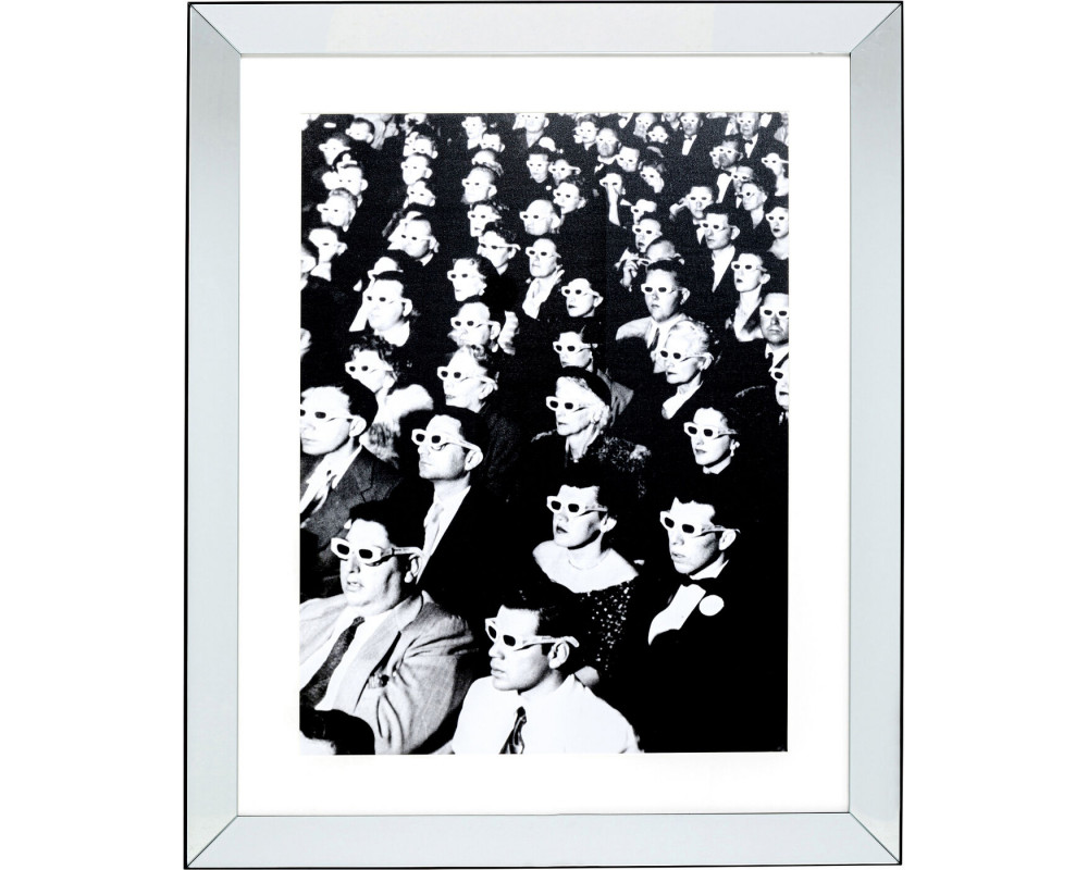 Framed Picture Audience 85x105