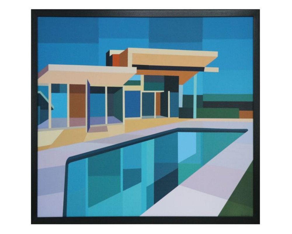 Framed Picture Architecture 100x85