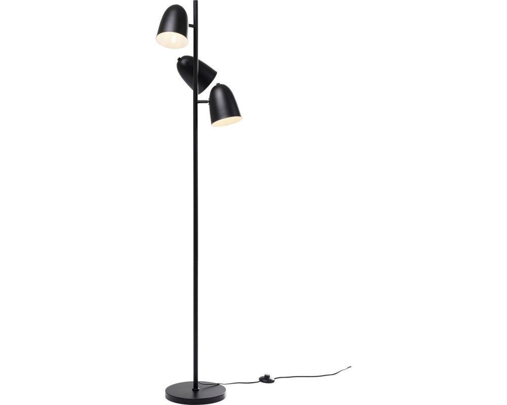 Floor Lamp Dr NoTriples Matt Black 160cm