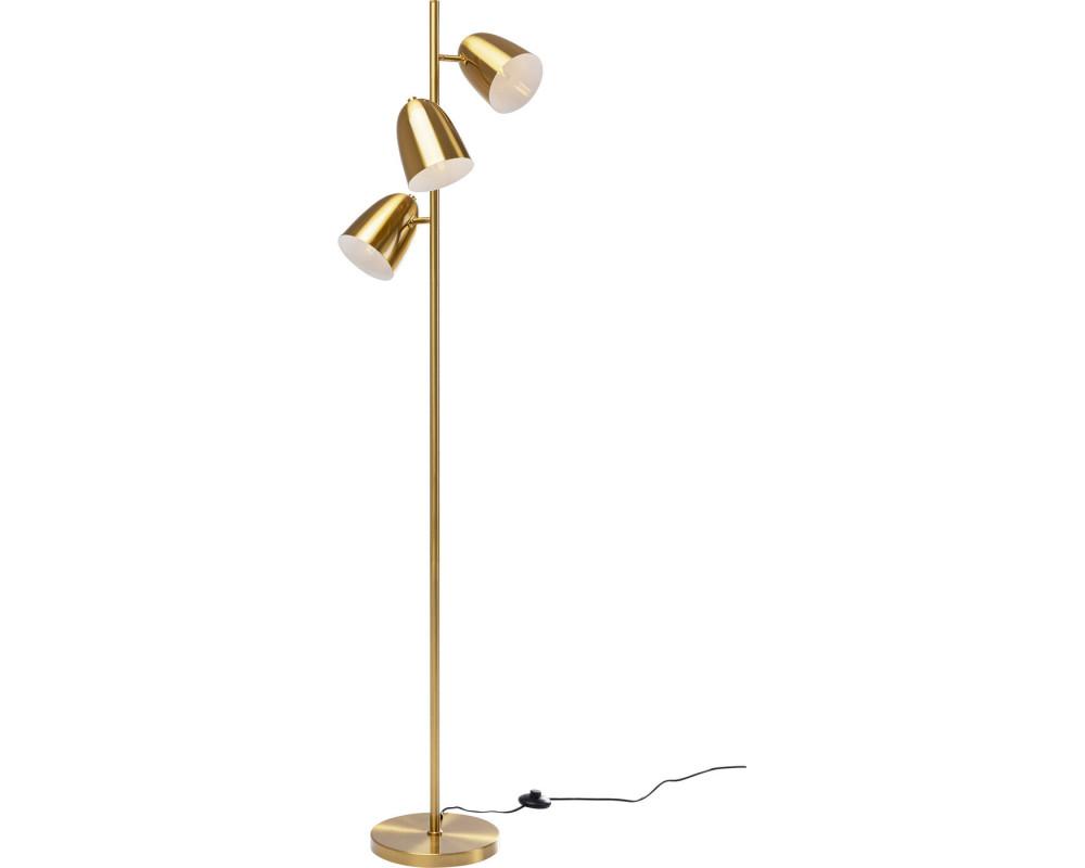 Floor Lamp Dr No Triples Gold 160cm