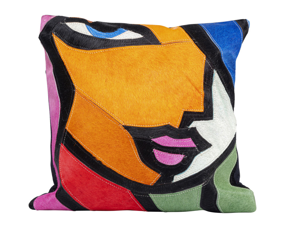 Cushion Abstract Lady Face 40x40