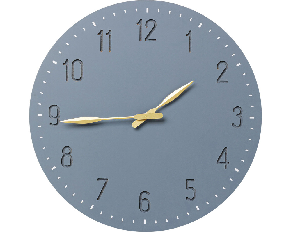 Wall Clock Mailo Grey Ø50