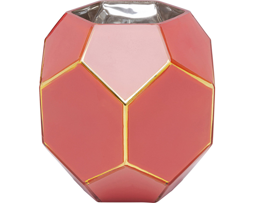 Vase Art Pastel Red 17