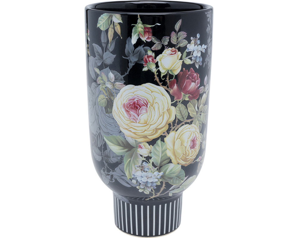 Deco Vase Blooming Black 27cm