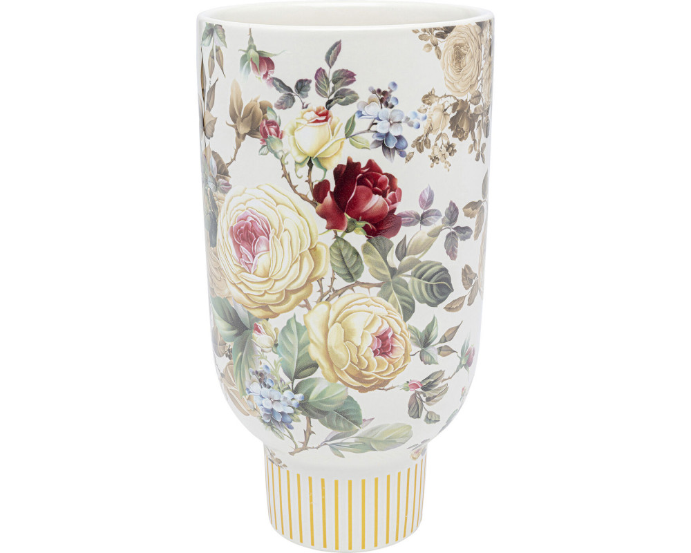 Deco Vase Blooming White 27cm
