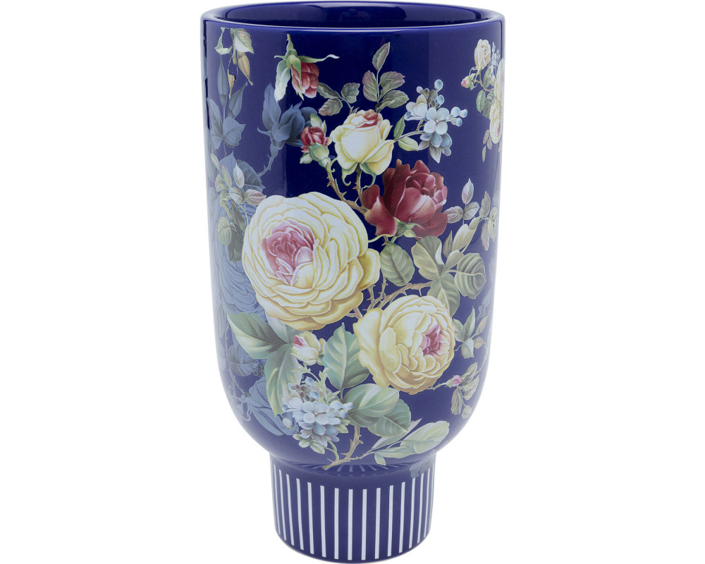 Deco Vase Blooming Blue 27cm