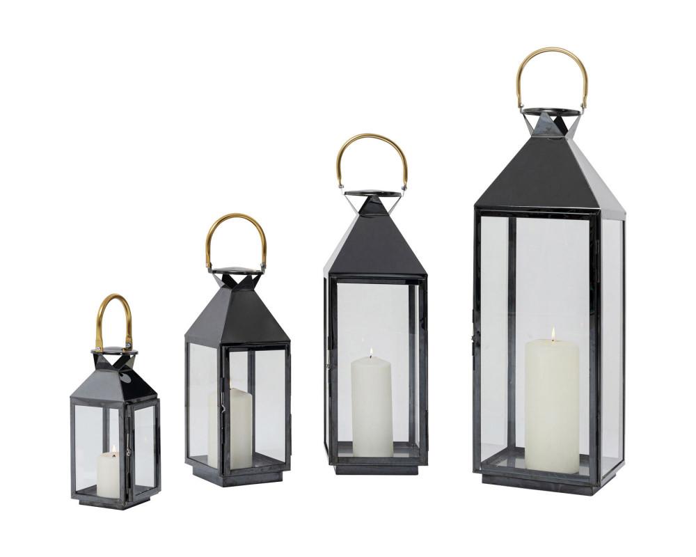 Lantern Giardino Black Gold (4/Set)