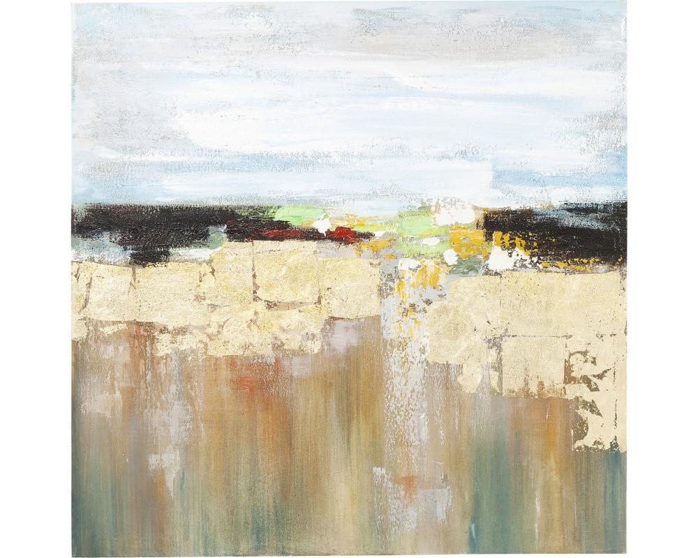 Картина Abstract Landscape 120x120cm