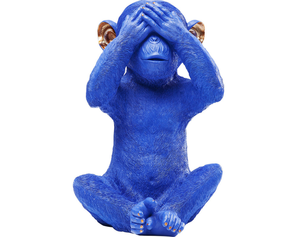 Копилка Monkey Mizaru Blue