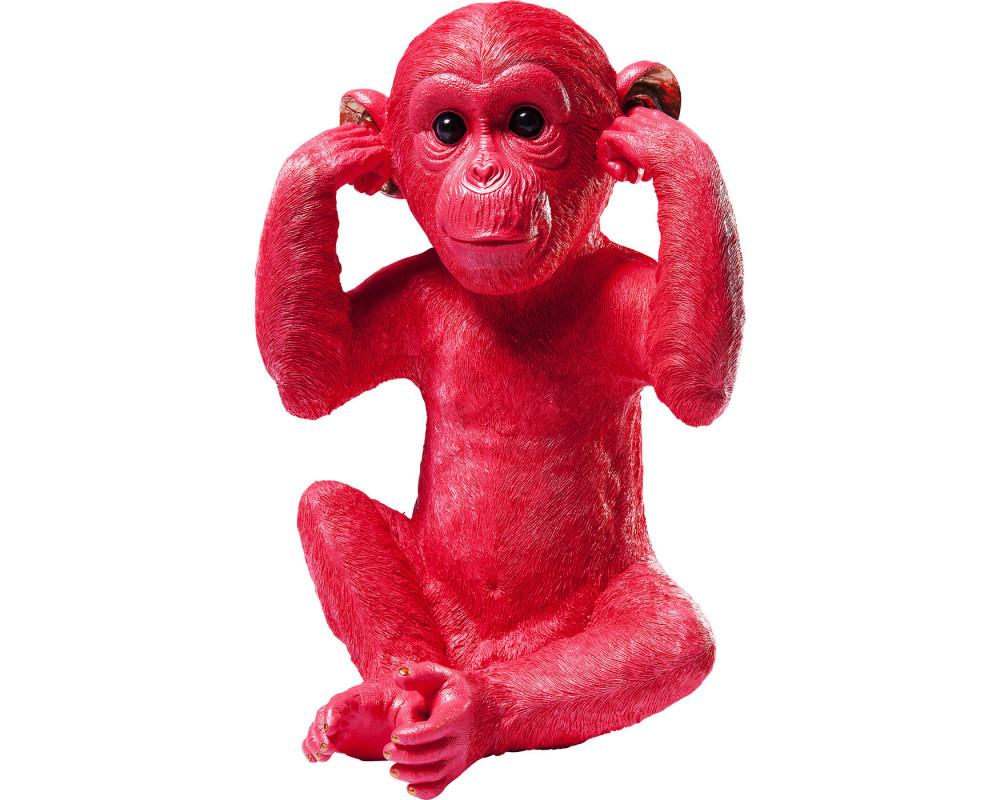 Копилка Monkey Kikazaru Red