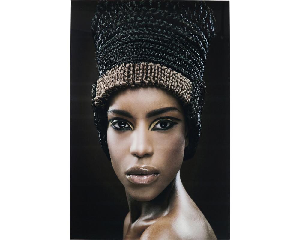 Картина Royal Headdress Face 150x100cm