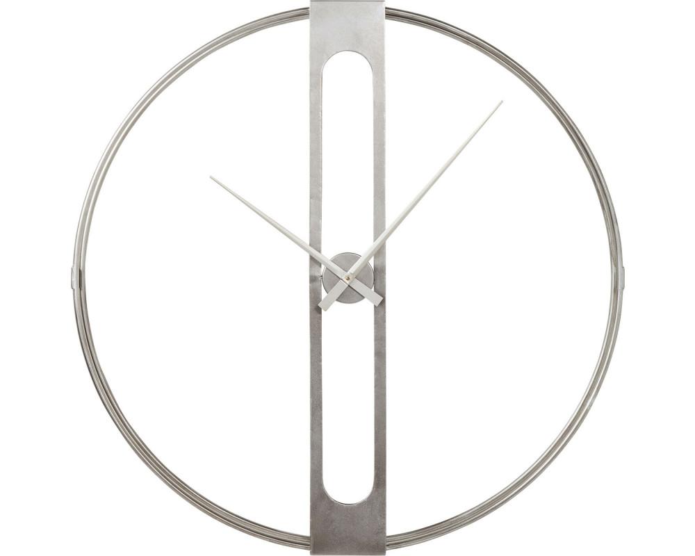 Часы настенные Clip Silver Ø107cm