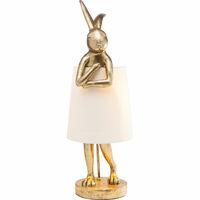 Светильник настольный Animal Rabbit Gold