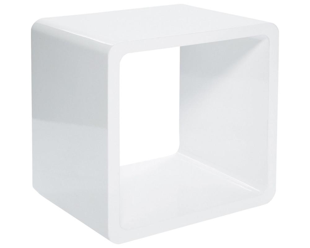 Куб Lounge MDF White