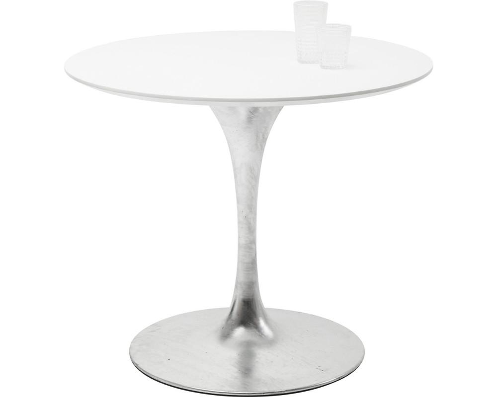 Стол Invitation Set White Zinc Ø90cm