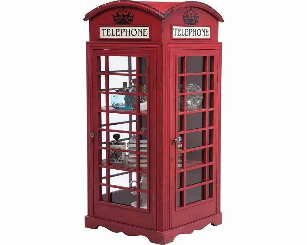 Шкаф-витрина London Telephone