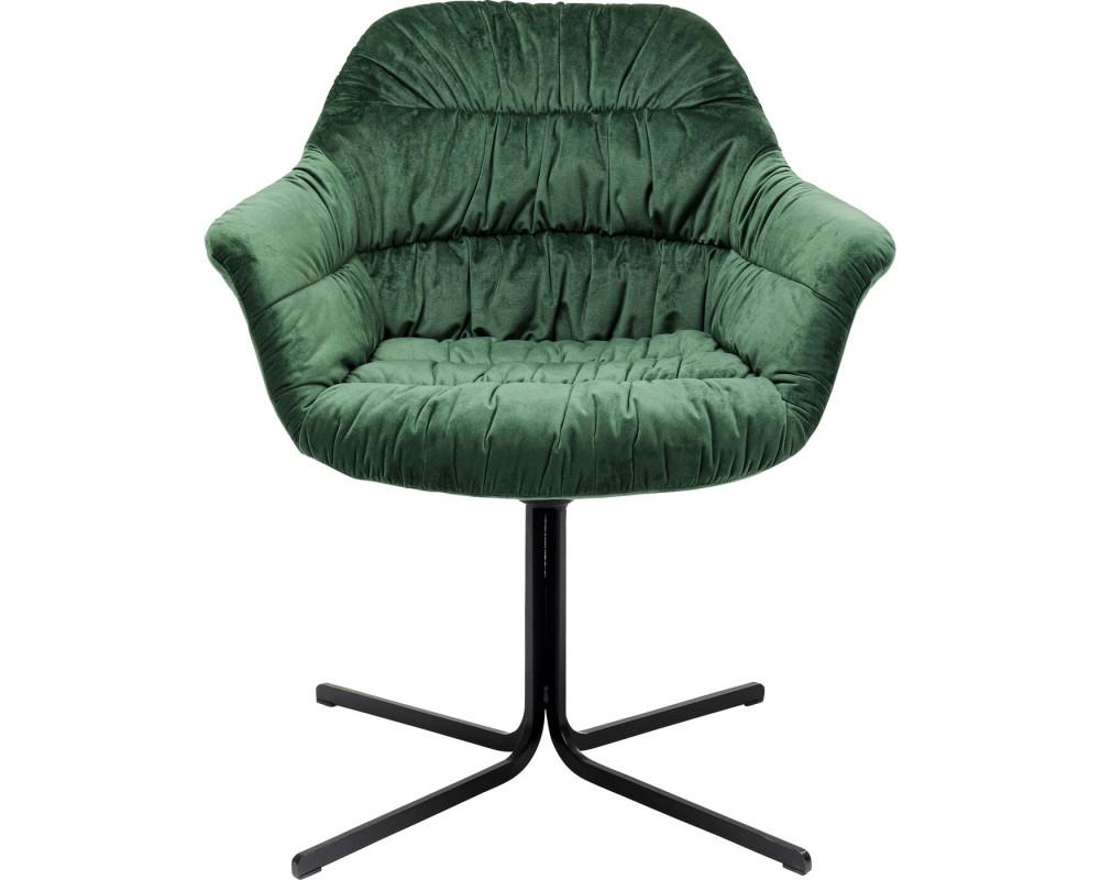 Кресло вращающееся Colmar Dark Green