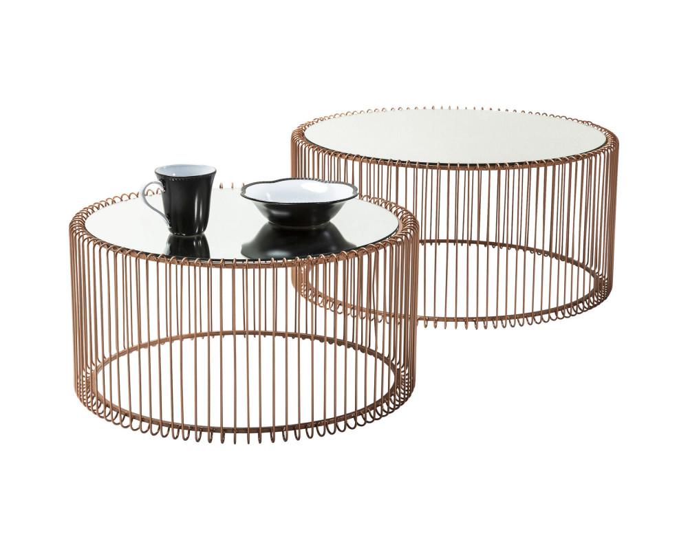 Стол кофейный Wire Copper (2/Set)