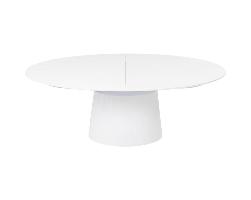 Стол раздвижной Benvenuto White 200(50)x110cm