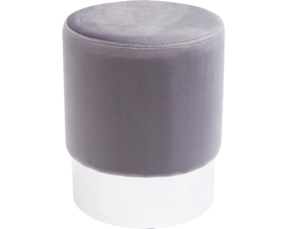 Пуф Cherry Light Grey Silver Ø35cm