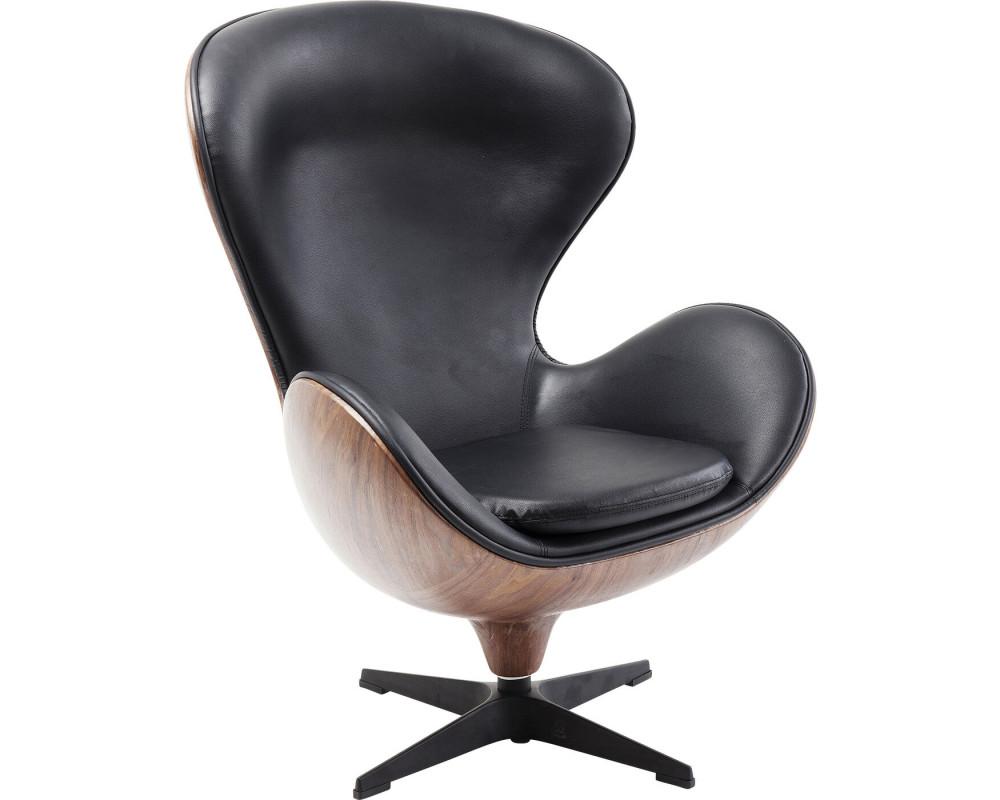 Кресло вращающееся Loung Black Walnut
