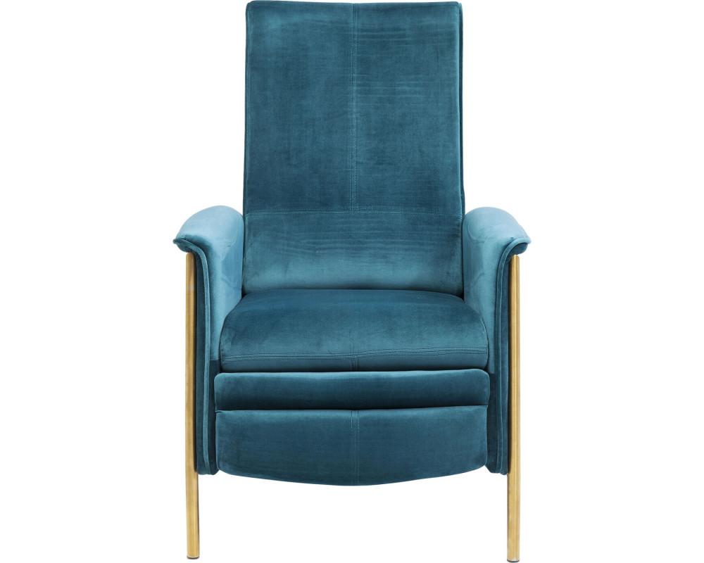 Кресло Lazy Velvet Blue