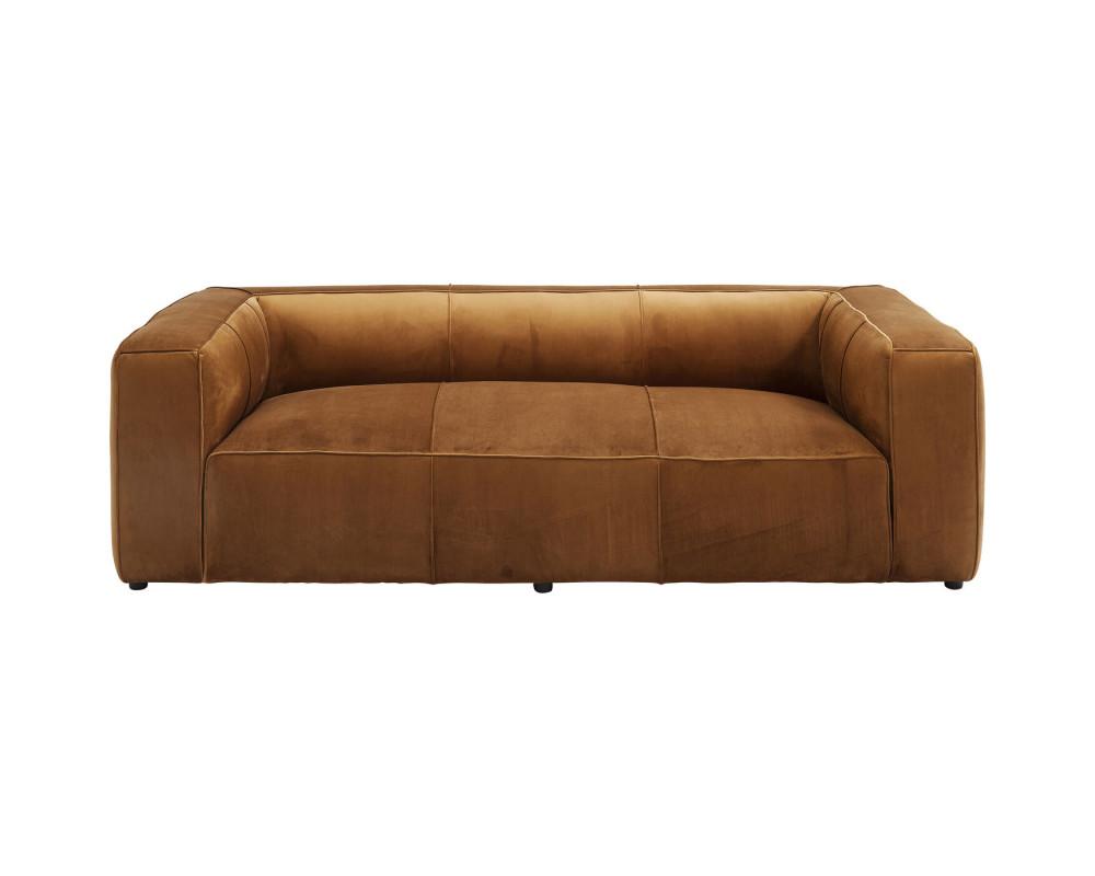 Диван Cubetto Velvet Braun 2,5-Seater